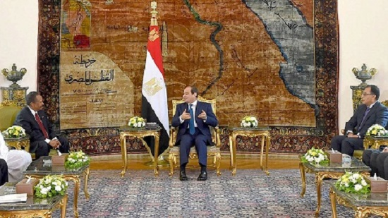 Egypt supports Sudans security and stability, Sisi tells Hamdok