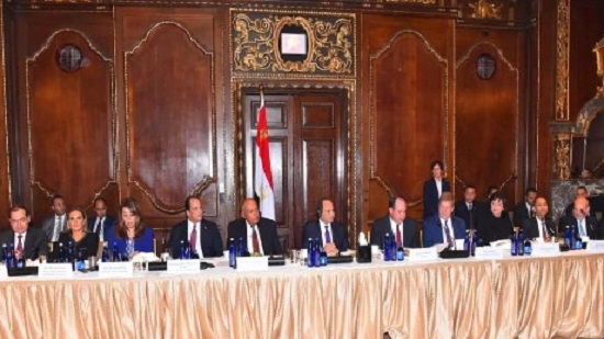 Egypts Sisi discusses investments prospects with CEOs of major US companies
