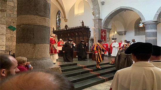 Coptic Church in Switzerland Celebrates the Feast of Saint Maurice