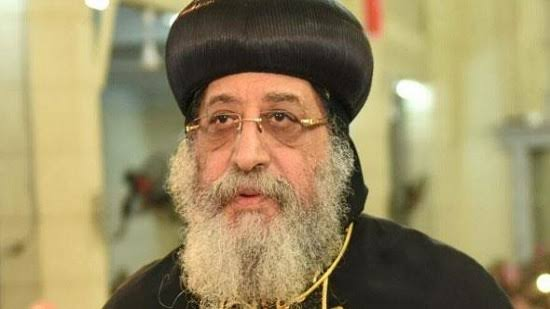 Pope Tawadros meets with youth of Beni Suef diocese in Wadi El Natroun