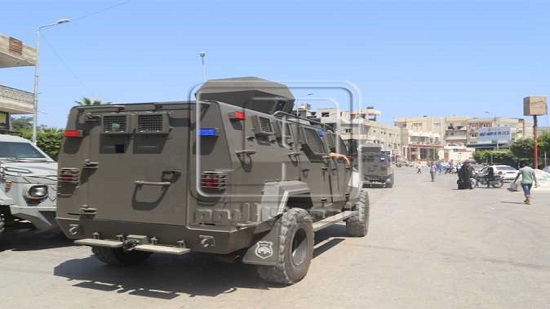 Egypt s police forces kill 15 terrorists in North Sinai