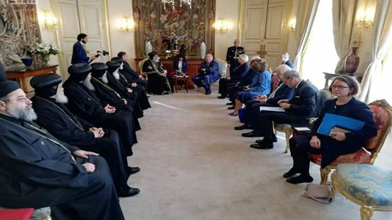 Pope Tawadros at the Belgian Senate: We live in Egypt in the spirit of one family