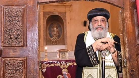 Pope Tawadros visits the shrine of St. John Cassian in Marseilles