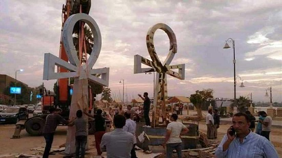 Chamber of Tourism and Guides expresses anger at the removal of Ankh from Luxor square