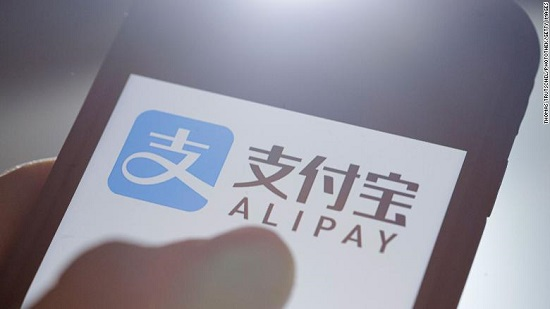 Visitors to China can now use Alipay instead of cash or cards