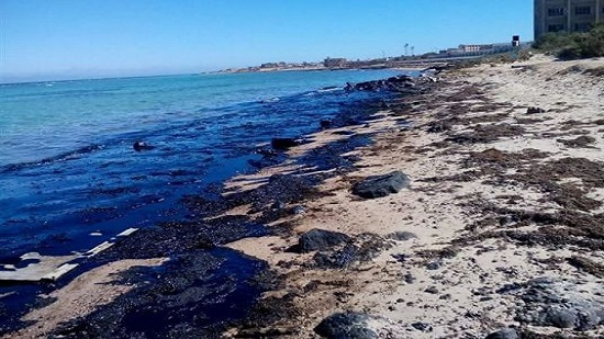 Oil spill reappears in Ras Ghareb