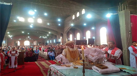 Bishop of Samalut inaugurates the cathedrals of Angel Michael and St. George