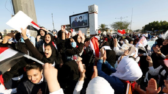 In Photos: Students join protesters in new wave of strikes acorss Iraq