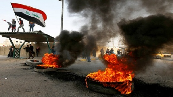 Iraqi officials: 1 protester killed amid ongoing clashes