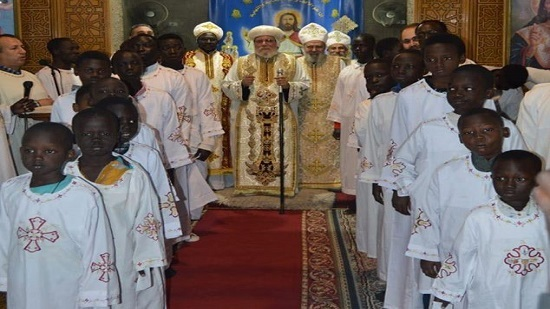 22 Sudanese deacons ordained at Nasr City