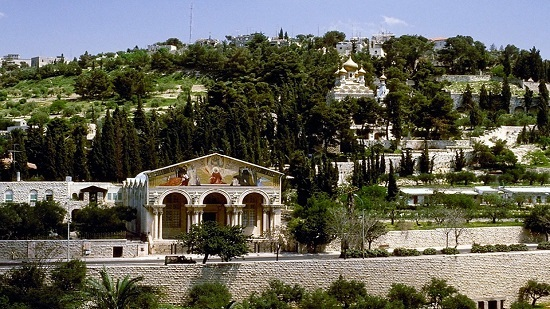 Events on the Mount of Olives