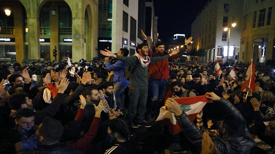 Angry residents attack Lebanese municipality headquarters
