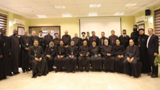 The Council of Churches of Egypt organizes a spiritual meeting for 55 priests