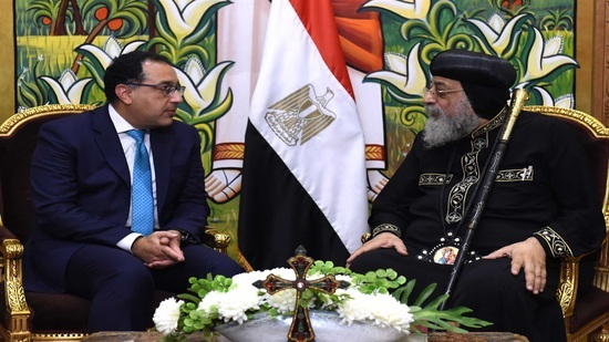 Prime Minister congratulates Pope Tawadros II on Christmas