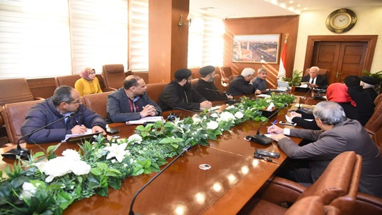 Governor discusses the inclusion of Port Said in the Holy Family s  path