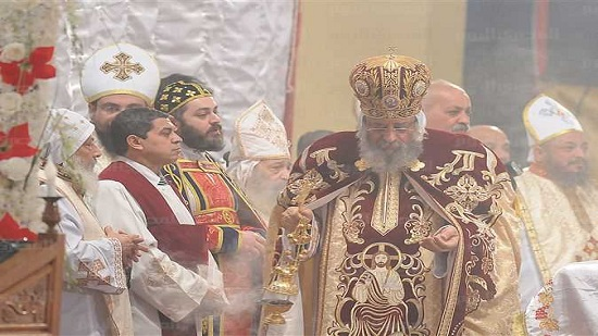 Christians in Abbasiya cathedral celebrate Coptic Christmas