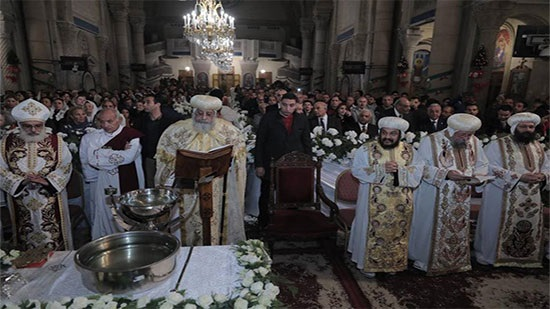Pope Tawadros celebrates Epiphany Feast in Alexandria