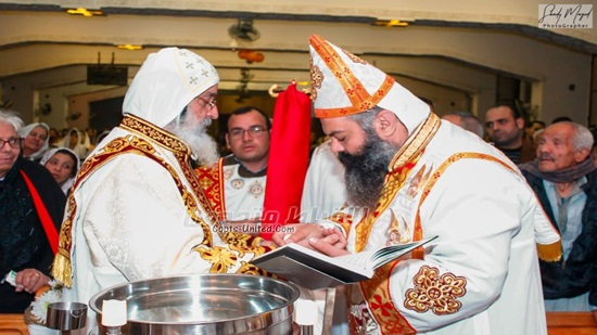 Bihsop Makar opens a new Church in 10th of Ramadan on Epiphany