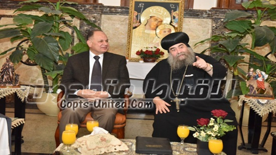 Governor of Assiut visits the monastery of the Virgin Mary on Epiphany