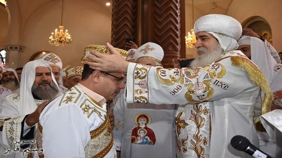Bishop of Beni Suef ordains two new full deacons
