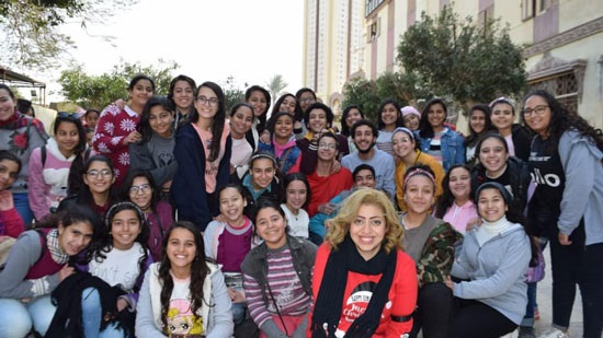 Beni Suef diocese holds fun day for boys and girls