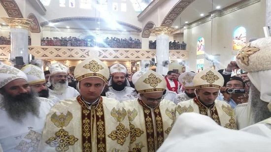 3 new priests ordained in the parish of Beba and Al-Fashn