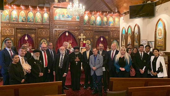 Bishop Tadros holds meeting with Australian judges and lawyers