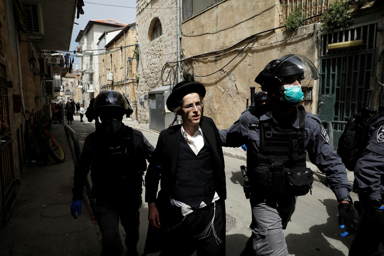 Some ultra-Orthodox Israelis chafe at coronavirus restrictions