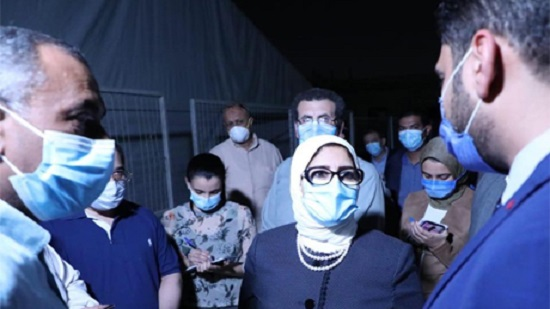 Cairo hospital setting up field tents for suspected coronavirus patients