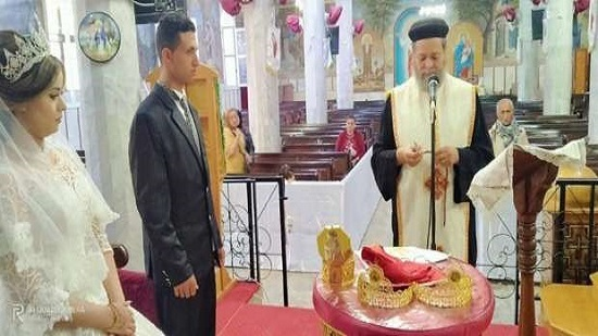 Matruh diocese holds its first wedding ceremony under Coronavirus