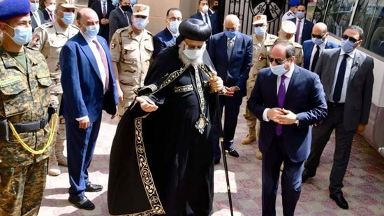 President El-Sisi opens a new church in Bashayer El-kheir, Alexandria