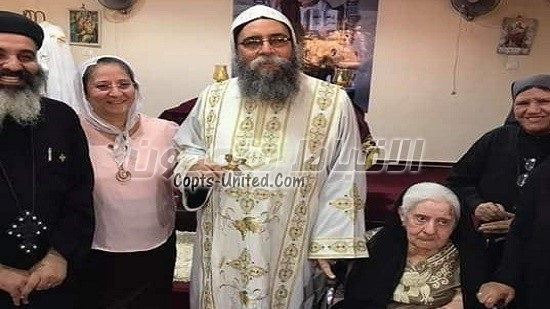 Diocese of Beni Suef mourns the mother of Bishop Stephenos