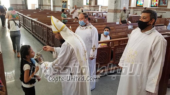 Diocese of the Red Sea celebrates the first Mass in 3 months