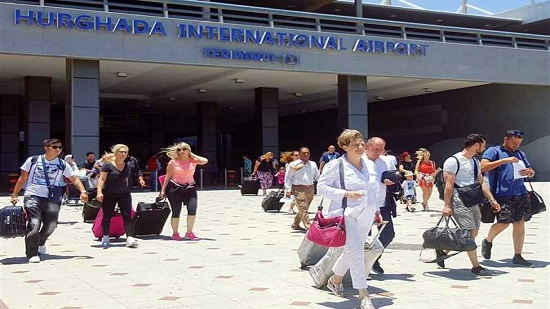 Egypt's Hurghada International Airport receives first post-reopening flight from Ukraine