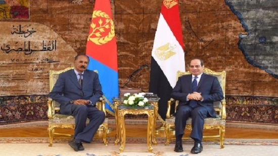 Egypts Sisi to hold talks with Eritreas Afwerki on developments in Horn of Africa, Red Sea