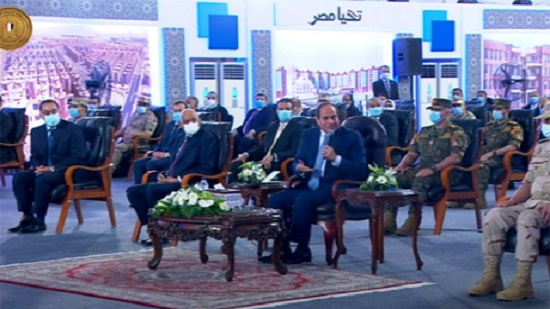 Egypts Sisi inaugurates Al-Asmarat 3 residential complex in Moqattam to combat informal housing