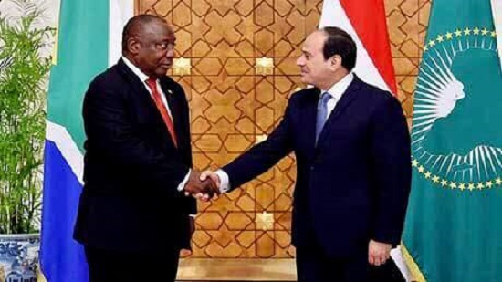 Egypt rejects unilateralism compromising right to Nile water, Sisi tells South African counterpart