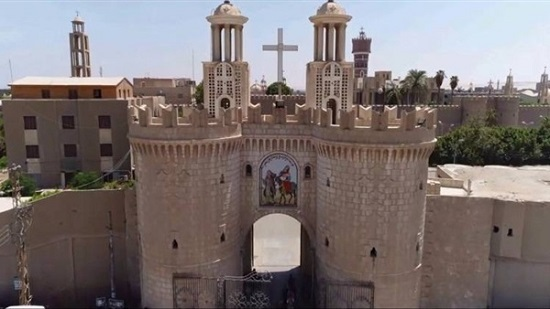 The Monastery of the Virgin Mary in Minya reopens