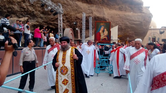 The Monastery of the Virgin in Dernkeh is opened before visitors during fasting