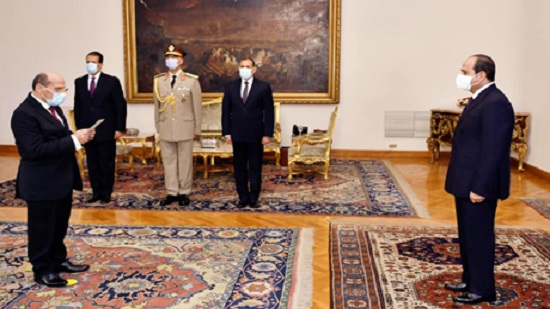 New head of Egypts Court of Cassation sworn on by President Sisi
