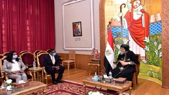 Coptic Pope Tawadros prays that GERD negotiations move forward towards solution for all