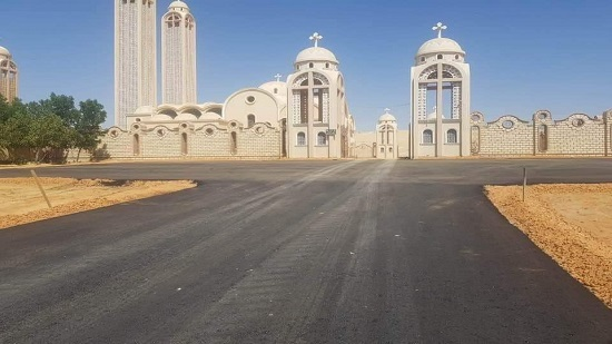 The new road of St. Samuel Monastery is ready