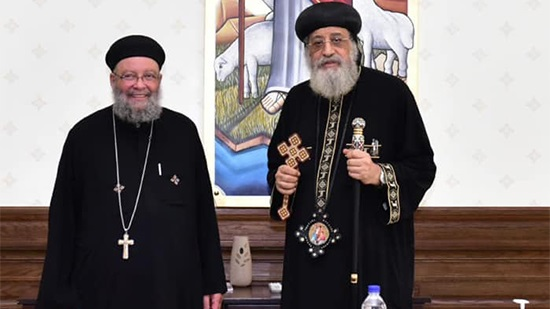 Pope receives priest of the Coptic Church in New Jersey