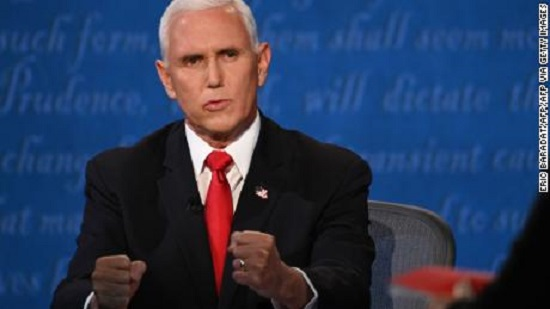 Debate coach: Pence offers tour through upside-down world