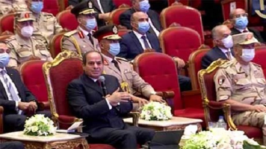 Egypts Sisi urges awareness of conspiracies aiming at undermining stability