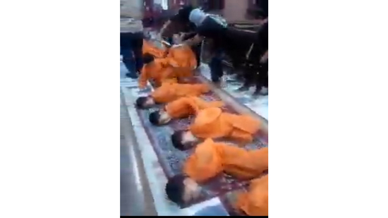 Families of Libya s martyrs denounce using children in the slaughter scenes