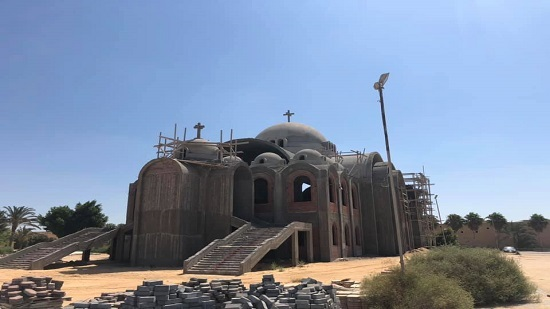St. Mina Monastery carries out the final finishes of the Church of Alexandria Martyrs