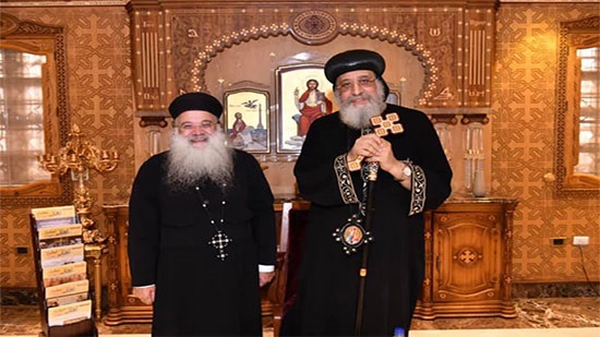 Pope Meets with the Priest of the Coptic Church in Jordan