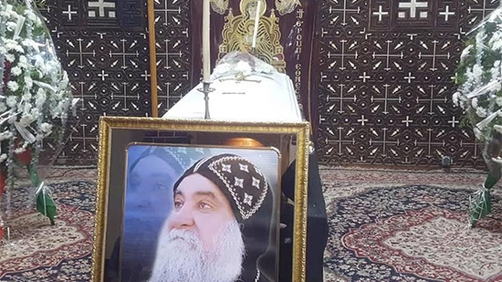 St. Mary Monastery in Akhmim holds funeral of monk Dioscorus