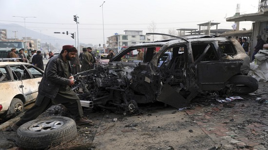 Official: Large car bomb kills 9 in Afghan capital
